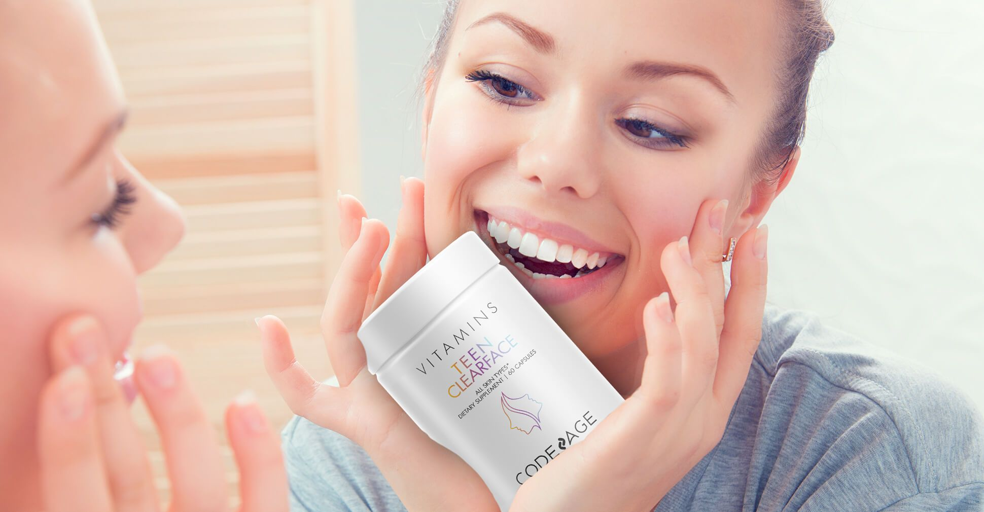 clear face vitamins skin supplement